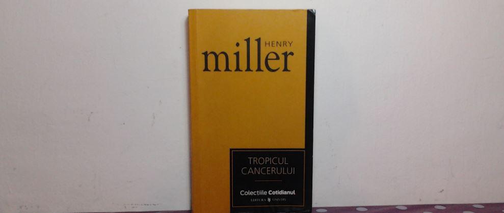 Tropicul Cancerului de Henry Miller
